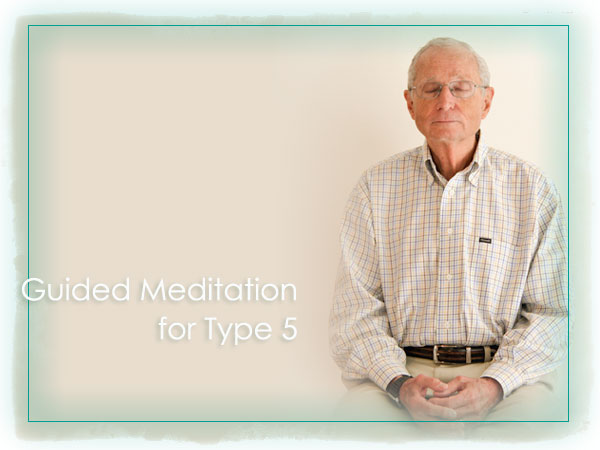David Daniels Free Enneagram Audio Guided Mediation Practice for Type Five (5) Observer Personality Reflection and Growth