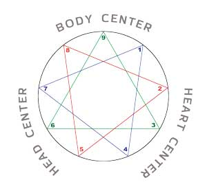 David Daniels on the Enneagram Three Centers of Intelligence from Harmony Triads; Heart, Body, Gut, Mind