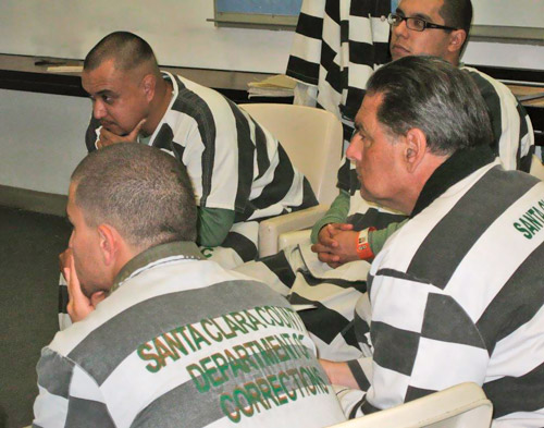 Prison Inmates Attentively Listen to David Daniels' Class for the Enneagram Prison Project for Self Understanding, Growth