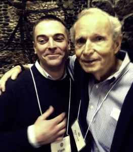 David Daniels & Elam Chance Hug & Embrace to Celebrate his Personal Growth & Development from Enneagram Prison Project
