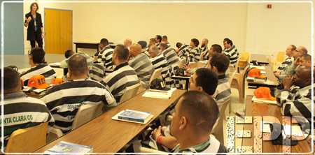 Susan Olesek Teaches a Group of Prisoners about the Enneagram through the Enneagram Prison Project with David Daniels